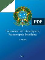 (2011) Formulario de Fitoterapicos Da Farmacopeia Brasileira