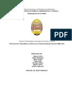 El Precio de Los Combustibles y Su Efecto en La Economia Hondurena (2000-2013)