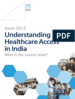 Understanding Healthcare Access in India