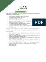 Estudio de Juan Detallado