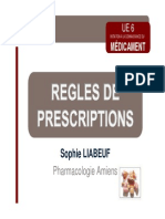 BUUUNCadre Regr tytrlementaire de La Prescription
