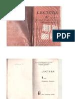 كتاب قراءة لغة فرنسية س4 1981-1982 - الجزائر