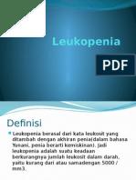 Leukopenia