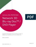 Manual Blu-ray Lg Bp640 Mfl68164501 Eu Spa 1.0