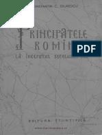 Constantin C. Giurescu - Principatele Române La Începutul Secolului XIX