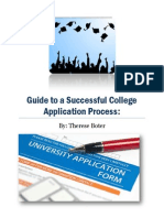 college application process handbook