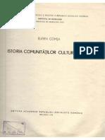 E. Comşa. Istoria comunităţilor culturii Boian. 1974