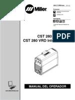 manual cst 280 miller