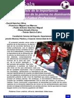 Analisis de La Pierna No Dominante en El Futbol