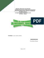 Comformacion de La Sociedad en Yaracuy, Veroes y Farriar
