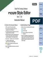 Canon - Picture Style Editor - Ver. 1.10