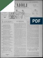 L'Aiòli. - Annado 09, n°322 (Desèmbre 1899)