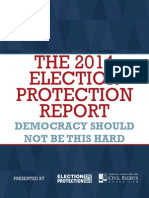 The 2014 Election Protection Report