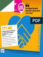 Départementales 2015 - Fiche Solidarité