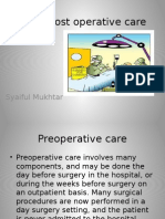 Pre & Post Operative Care