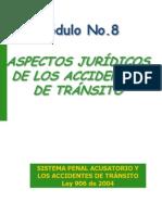MODULO 8 ASPECTOS JURIDICOS EN LOS ACCIDENTES DE TRANSITO.pdf