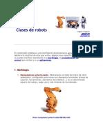 Clases de Robots