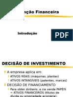 Introdução à  Análise Financeira