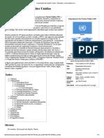 Organização Das Nações Unidas – Wikipédia, A Enciclopédia Livre