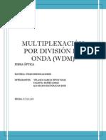 Multiplexacion Por Divicion de Longitud de Onda