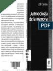 Antropologia de La Memoria