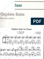 the Orphee Suite Philip Glass