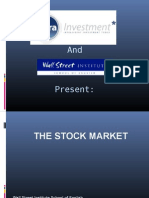 Wall Street Institute - Stock Market Workshop 2010