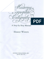 Mastering Copperplate Calligraphy