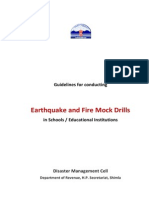 Mock Drills- Guidance Note for Schools
