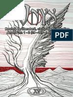 Revista Literara Onyx Nr 15