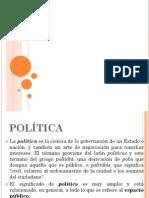Politica, Democracia y Opinion Publica