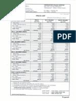 Emulsion Price List Wef 01-02-2015