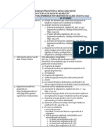Agenda Sugerida Para Primera Sesion de Clase 01 - 2015