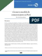 Un nuevo modelo de comercio justo en Perú