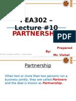 PEA302_Lec#10_Partnership.pps