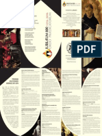 Programa de Actividades Jubileo OP 2015-2017