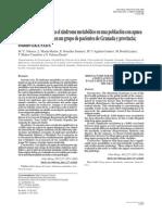 Factores de riesgo para el síndrome metabólico en una población con apnea del sueño; evaluación en un grupo de pacientes de Granada y provincia; estudio GRANADA