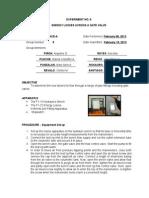 Postlab Report --Exp No. 6