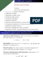 Teoria Dei Numeri_presentazione