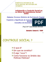 Apresentacao Participacao e Controle Social No SUAS