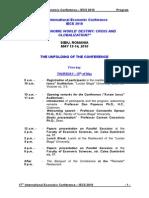Iecs 2010 Program