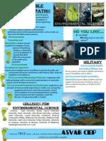 environmental career flyer