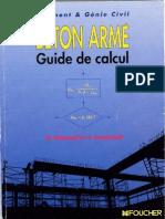 Beton Armé Guide de Calcul FOUCHER