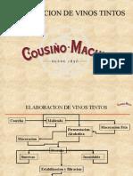 Produccion de Vinos Tintos