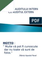 Relația Dintre Audit Intern Și Audit Extern