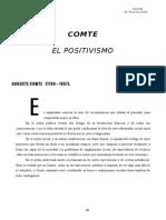 Filosofía Moderna y Contemporánea. 6. Comte