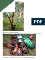 .Palmera Con Botellas de Plástico