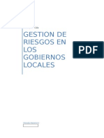 Gestion de Riesgos y Desastres Indeci