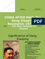 China After Mao_Deng's Ascendancy