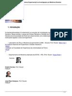 [FMDUP, 2012] Aplicacao de Tecnicas de Mecanica Experimental Na Investigacao Em Medicina Dentaria